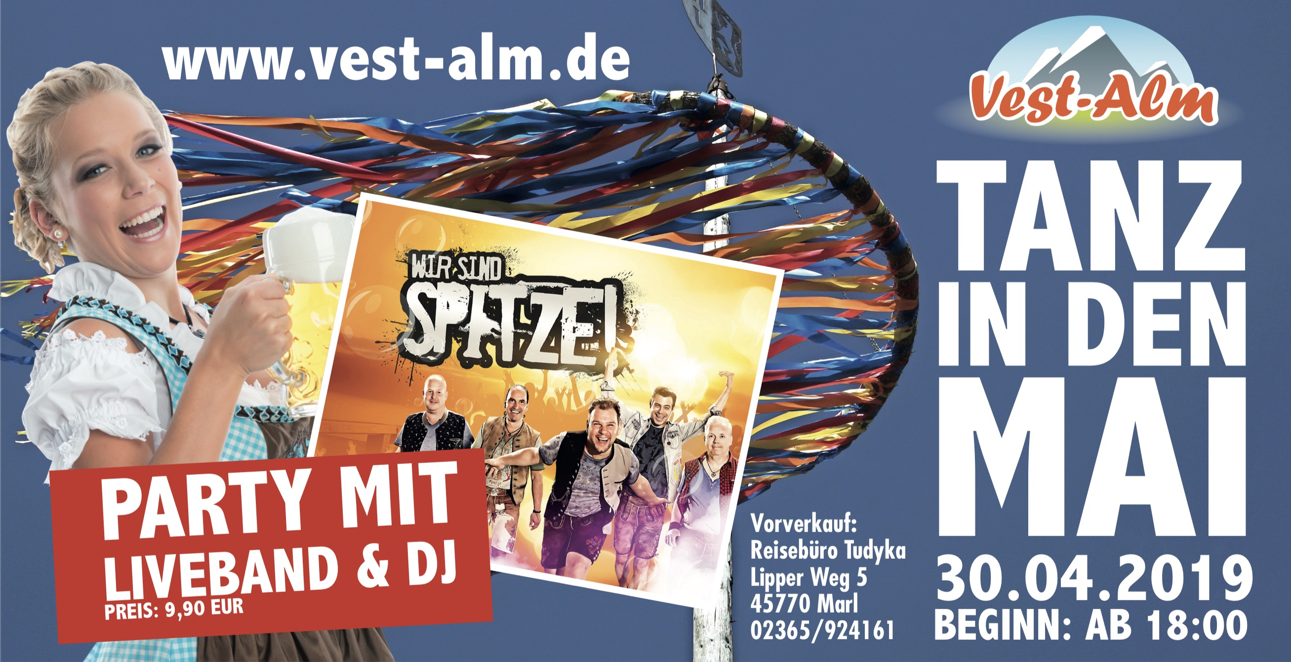 Aprés Ski Party 2019 in Marl Info Banner